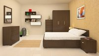 Elanza Oak King Size Bed