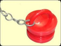 Pvc Male Blank Cap With Chain For Hydrant Landing Valve