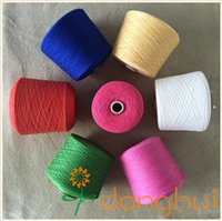 Worsted Yarn For Knitting And Weaving