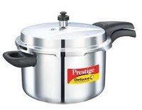 Prestige Deluxe Plus Stainless Steel Pressure Cooker 6.5 Ltr