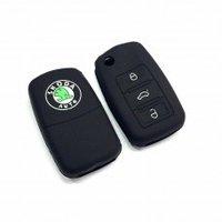 Car Remote Key Cover - Skoda Octavia