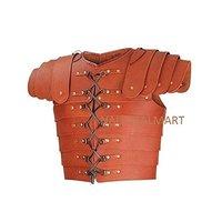 Brown Leather Roman Lorica Segmentata