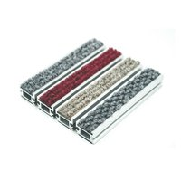Heavy Duty Aluminum Alloy Base Anti Slip Carpet Best Entrance Mats