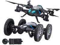 2 In 1 Rc Flying Quadcopter Vehicle Mode Remote Control Drone Toys