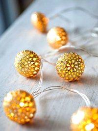 Fairy Gold Decorative Lights
