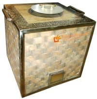 Stainless Steel Tiles Tandoor Gas Charcoal