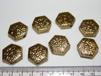 Gold Metal Beads