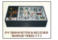 Fm Transmitter And Receiver Trainer Model Ft-1