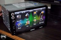 Double Din Car Stereo DVD Player