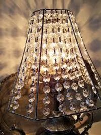 Paper lamp shades manufacturers paper lampshades suppliers exporters glass beads lampshades mozeypictures Choice Image