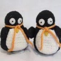 Jute Penguin Toys