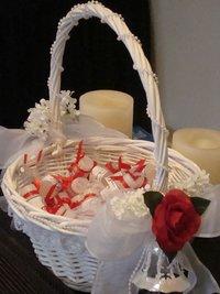Cane Wedding Basket