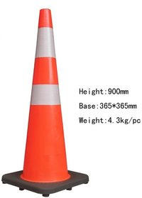 Flexible Reflective Road Traffic Cone