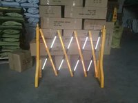 Plastic Expandable Safety Barrier Barricade