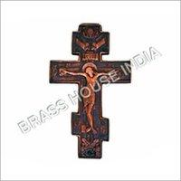 Finest Brass Crucifix Cross