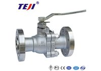 Stainless Steel Flange Ball Valve in Wenzhou