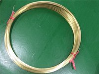 Coiled Brass Tube