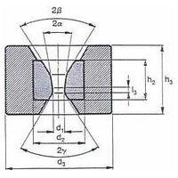 Tungsten Carbide Bar Tube Drawing Dies