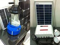 Solar Pv Home Lighting System Cfl And Led Based