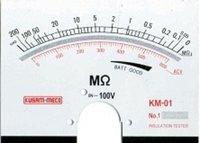Kusam Meco Km 01 Analog Insulation Tester Range 0 To 50m Ohm