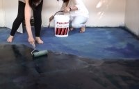 Dry Cement Color Coating