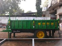 Tipping type trailer