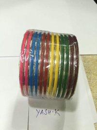 Artificial Alumunium Colourful Bangles