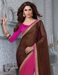 Simple Chiffon Designer Sarees (Wa0035)