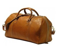 Appealing Look Duffle Leather Travel Bag