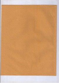 Golden Yellow Ribbed Kraft Paper