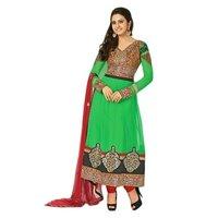 Stylish Girl Net Designer Anarkali Suit