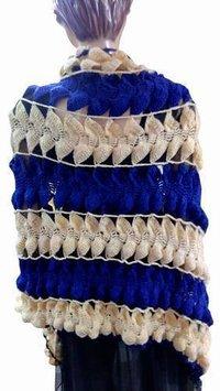 Multicolour Crochet Shawl