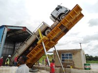 Hydraulic Truck Unlaoder