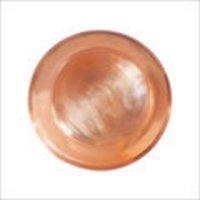 Copper Metal Pooja Plate