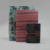 Handmade Cloth Diary Set