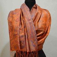Silk Kani Gold Wrap Shawl