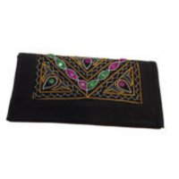 Ethnics Traditional Kutch Handicraft Black Color Designer Kutch Purse