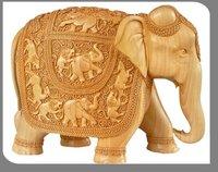 Wooden Elephant