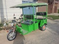 Battery E Rickshaw With Trolley