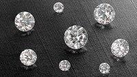 Natural Polished Diamonds
