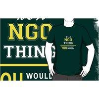 Ngo Round Neck T-Shirt Printing Services