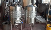 Fermentation Tanks With Cooling Jacket