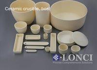 99.7% Alumina Ceramic Crucible