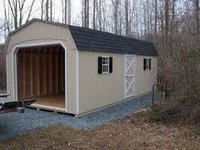 Commercial Garage Sheds