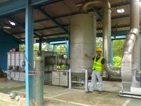 Liquid Waste Incinerators Plant Hot