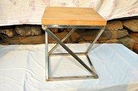 Railway Sleeper Wood Table