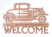 Wooden Car Key Holders