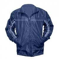 Designer Navy Blue Color Windcheater Jacket