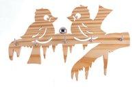Love Birds Wooden Key Holders