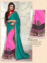 Ladies Jacquard Bollywood Saree